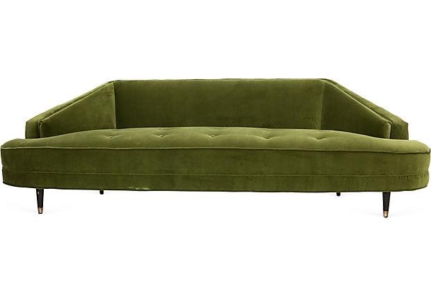 Green Velvet Mid Century Modern Sofa : eaad9520f415a76a847a3f5ddcce1a42 from pinterest.com size 620 x 422 jpeg 29kB