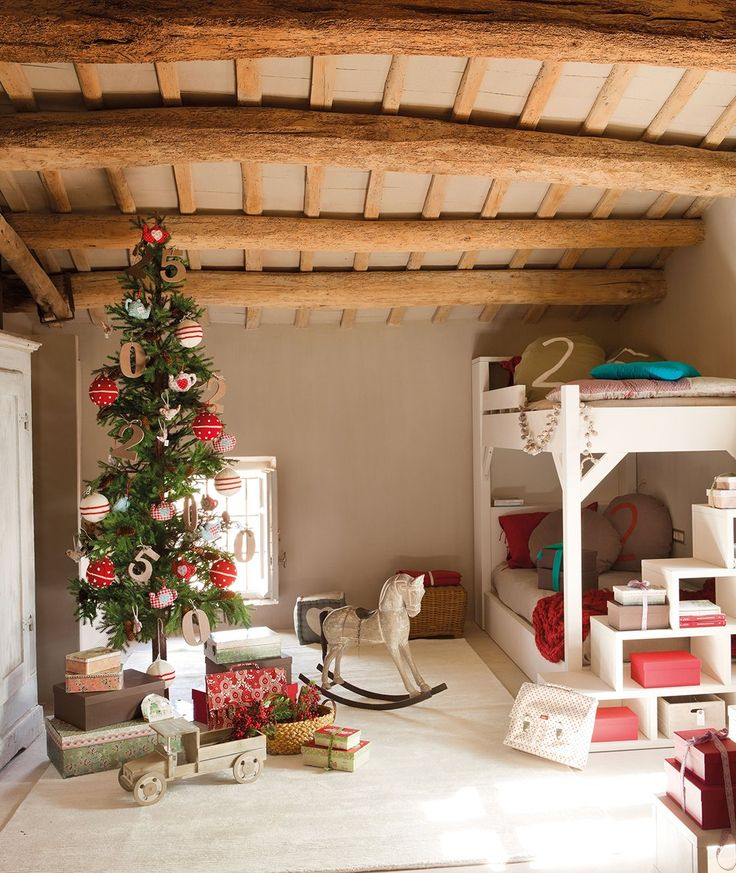 Cuento de Navidad en el cuarto de los niños · ElMueble.com · Niños