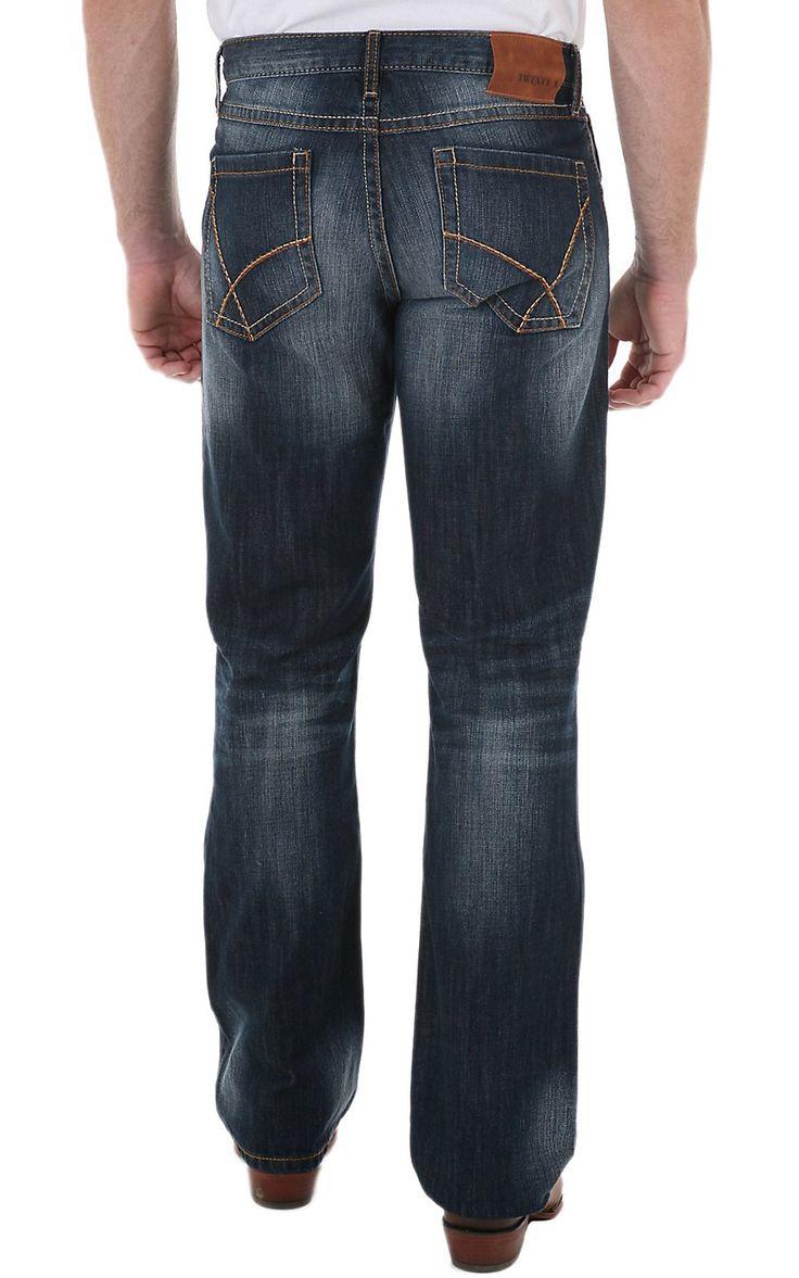 Wrangler 20Xtreme No.42 River Denim Vintage Slim Fit Boot Cut Jean
