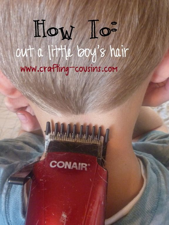 How To Cut Hair : How To: cut a little boys hair. Still crazy that Im pinning this ...