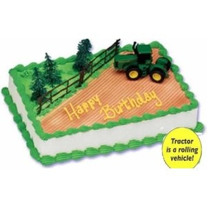 Via Amazon...John Deere Cake topper