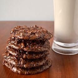 Flourless Chocolate Cookies | food | Pinterest