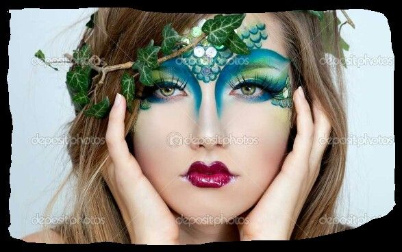 Mermaid makeup Halloween ideas! Pinterest - Mermaid Halloween Makeup Ideas