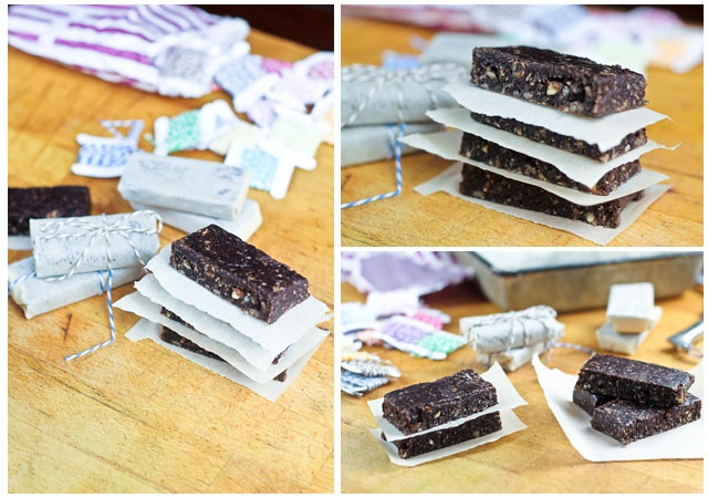 Home Made Chocolate Hazelnut Larabars | by Sonia! The Healthy Foodie