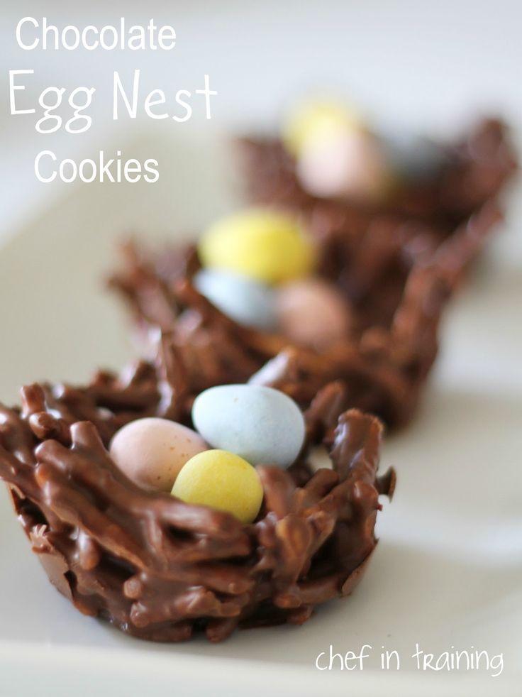 No-Bake Chocolate Egg Nest