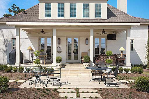 back porch house plans pinterest