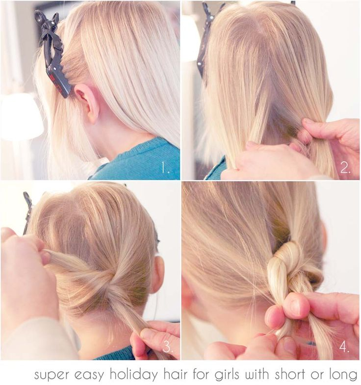 Holiday Hair for Kids 1