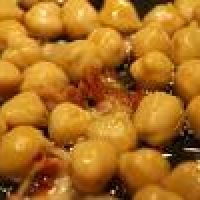 """Pan-fried Chickpea Salad Recipe 