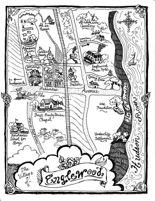 davidson essay map