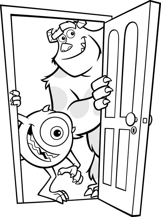 mikes restaurant coloring pages - photo#9
