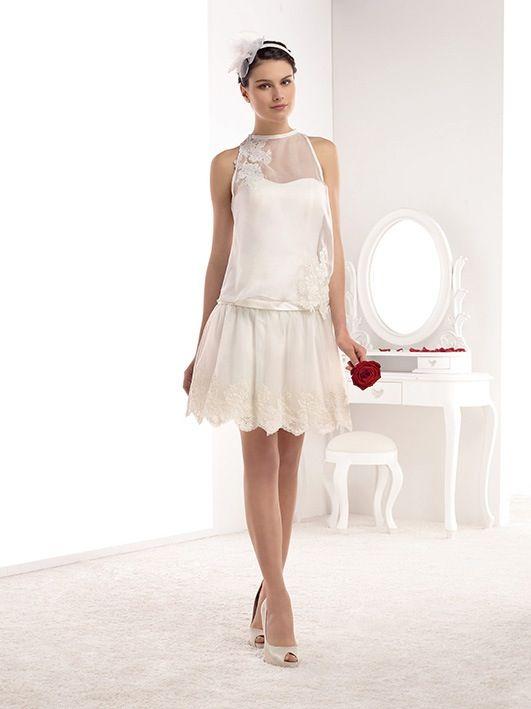 Robe de mariée - mademoiselle amour - pronuptia - bridal dress