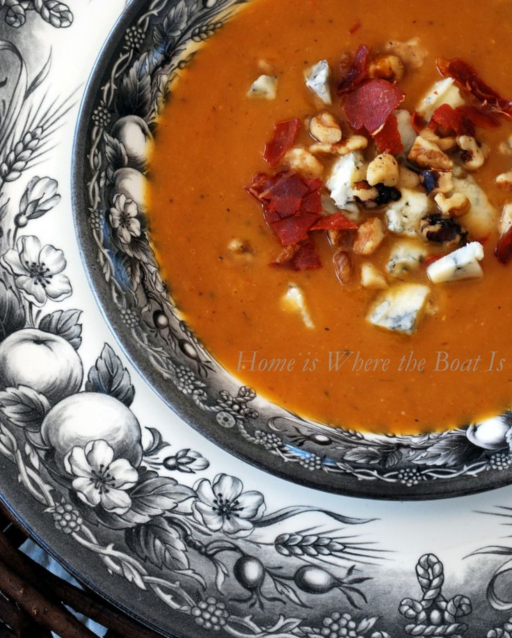 Roasted Pear and Butternut Squash | Soups | Pinterest