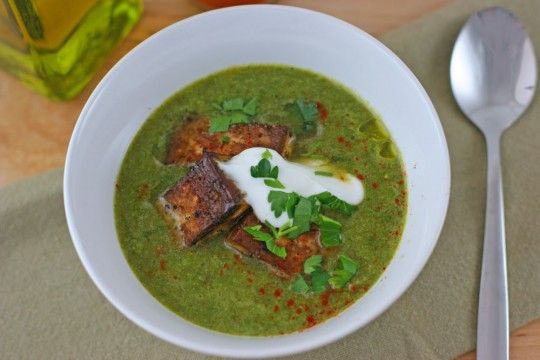 Creamy Green Monster' Soup | Soups, Stews and Chilies ...