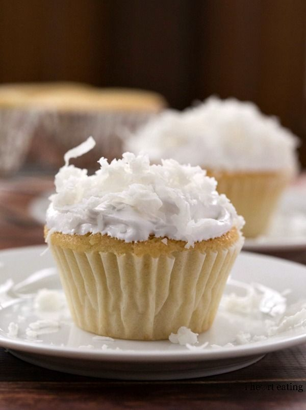 Coconut Cupcakes with Coconut 7-Minute Frosting | Recipe