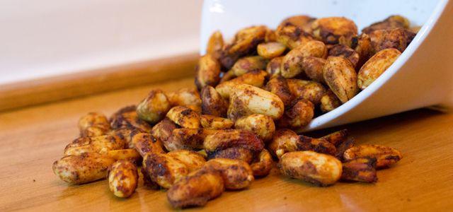 Chili Lime Spiced Peanuts | Hkrisharless@aol.com | Pinterest