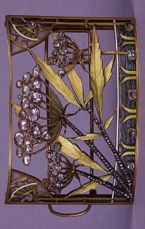 Lucien Gautrait Art Nouveau Jewelry