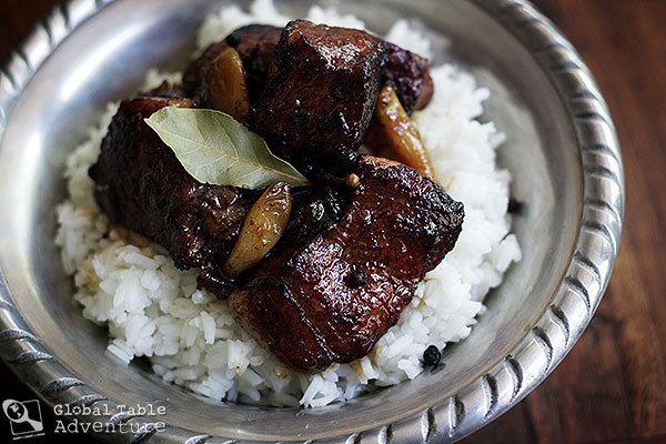 Filipino Braised Pork Adobo | Favorite Recipes | Pinterest