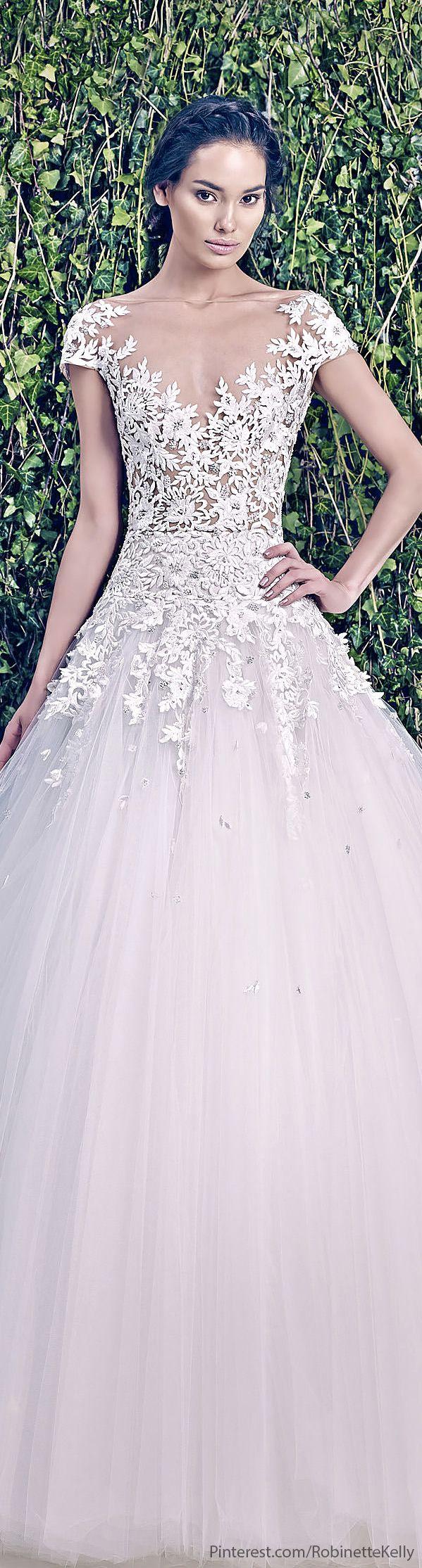 Zuhair murad bridal f w 2014 zuhair murad designs 1 for Zuhair murad 2014 wedding dresses