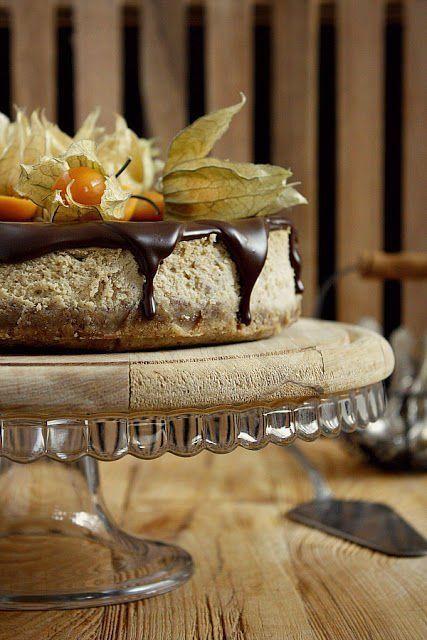 Fancy - Chestnut Cheesecake | delicious desserts! | Pinterest