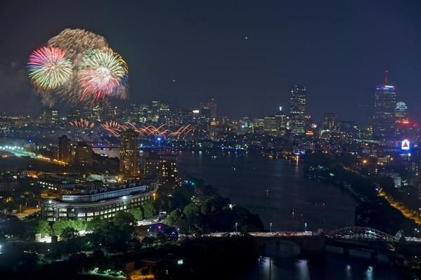 fourth of july boston fireworks