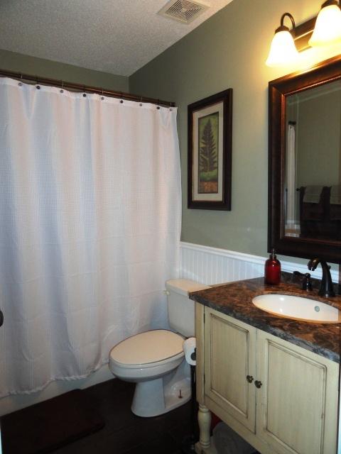 Hall bath remodel bathroom ideas pinterest for Hallway bathroom ideas