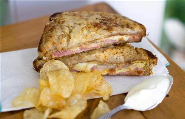 Quick and easy Croque Monsieur | Recipes | Pinterest