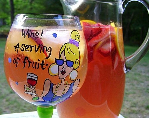 White Zinfandel Sangria | Recipe