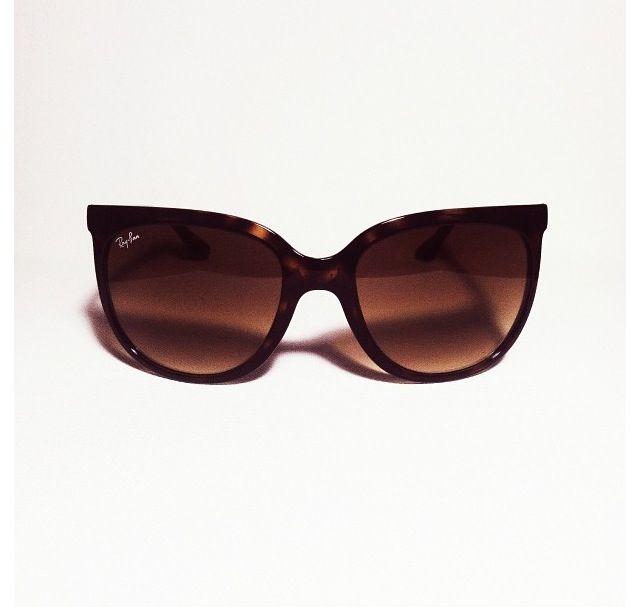 ray ban havana cat eye fashionably obsessed pinterest. Black Bedroom Furniture Sets. Home Design Ideas