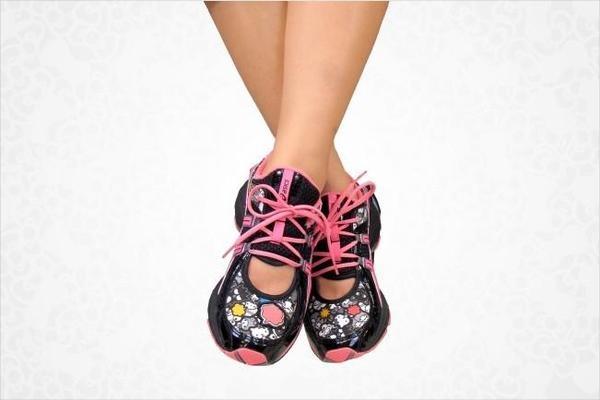 Sanrio's 50th Anniversary ASICS shoe!