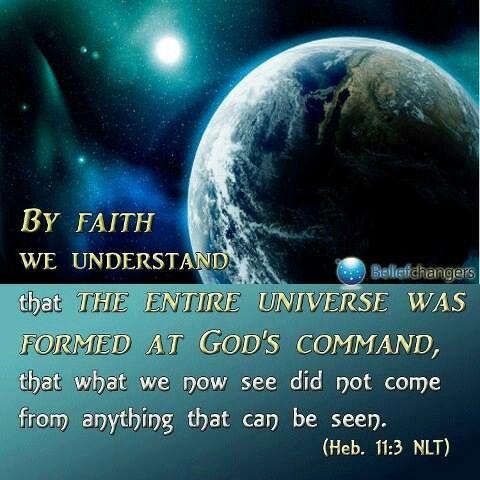 Verse For Today 29/12 - Hebrews 11:3 | PjNaijaExpress