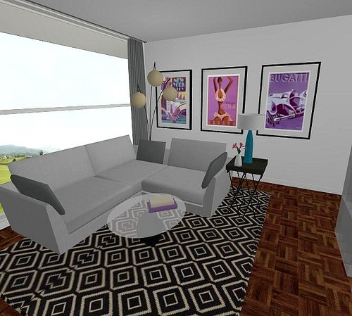 Pinterest for Room design vr