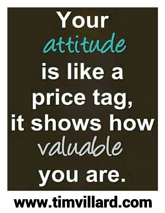 your attitude means everything inspirational quotes