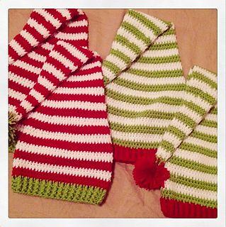 Elf Hat - Free Christmas Crochet Pattern - sizes toddler through adult
