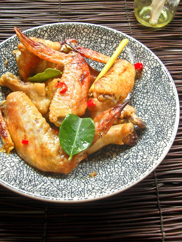 Grilled Turmeric And Lemongrass Chicken Wings Recipe — Dishmaps