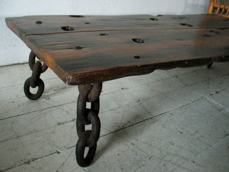 Exotic Wood Coffee Table Rustic Item Pinterest