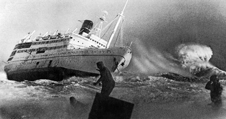 April 13, 1970: Gale force winds and 10-foot swells hammer the cruise ship La Jenelle off Port Hueneme, reducing in 23 minutes a million-dollar luxury liner into a salvage operation.