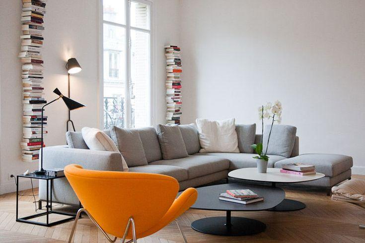Salon contemporain  For the Home  Pinterest