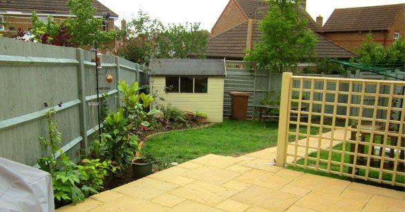 willow fence paint garden design pinterest. Black Bedroom Furniture Sets. Home Design Ideas