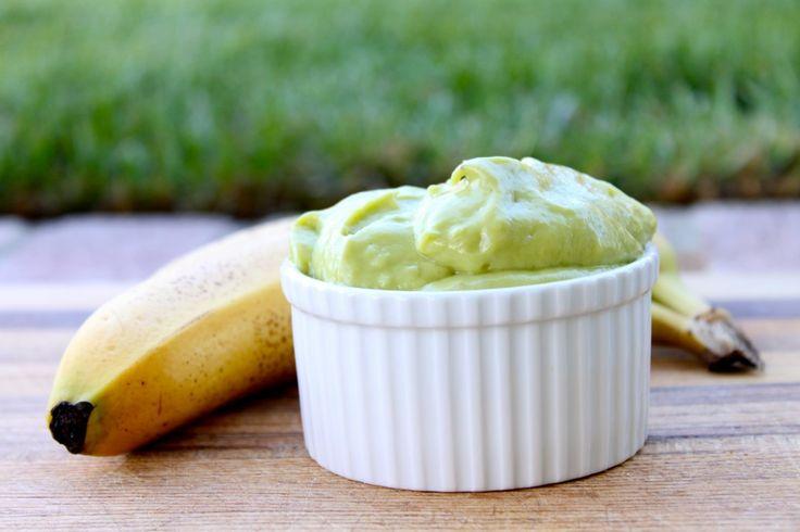 Banana Avocado Pudding (scroll down for recipe). #avocado #desserts