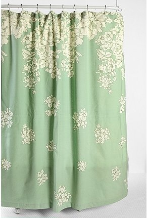 Seafoam Green Shower Curtain Seafoam Colored Shower Curtain