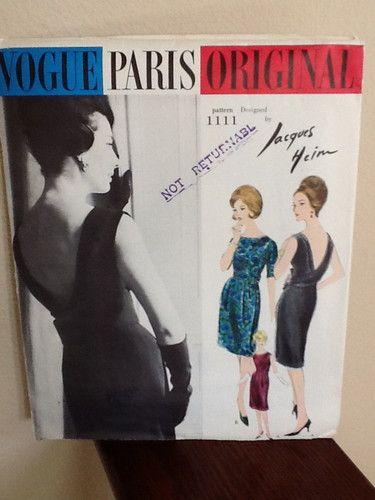 Vogue 1111 by Jacques Heim | Vogue Paris Original