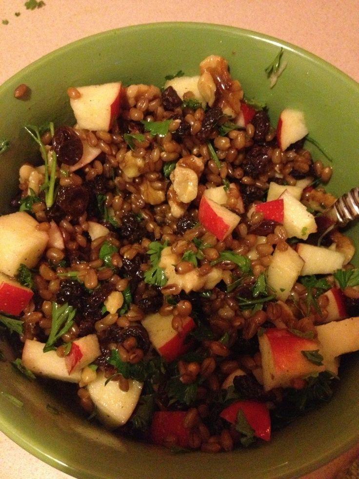 Wheat Berry Waldorf Salad | Salads | Pinterest