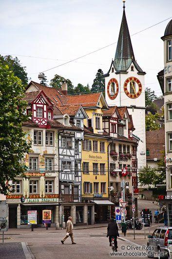 sankt gallen switzerland beautiful places pinterest. Black Bedroom Furniture Sets. Home Design Ideas