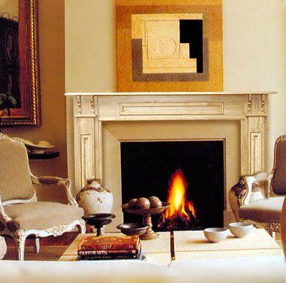 Craftsman Style Fireplace Mantel Fireplace Mantels Pinterest