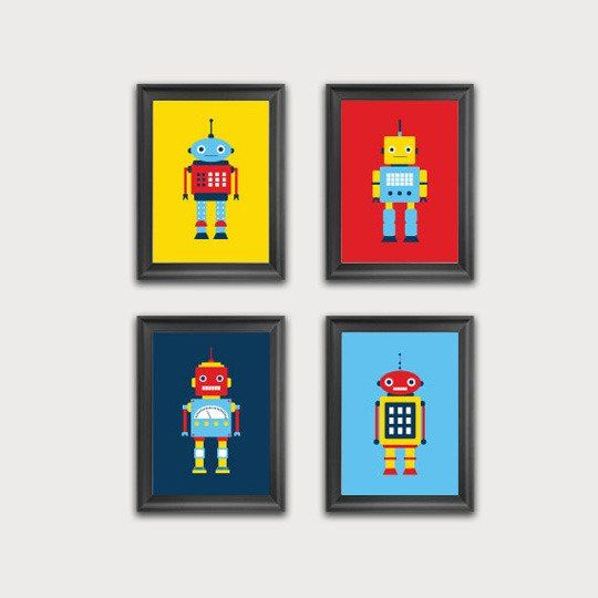 Prints For Kids Rooms : Eclectic Prints for Kids Rooms
