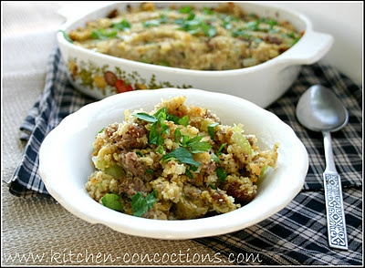 Easy Sausage Stuffing | Recipes to Try | Pinterest