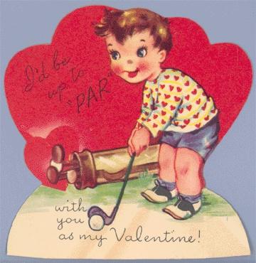 golf valentine's day gifts