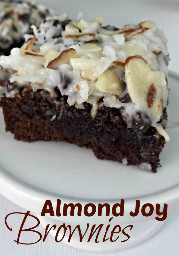 Almond Joy Brownies | Food to Try | Pinterest