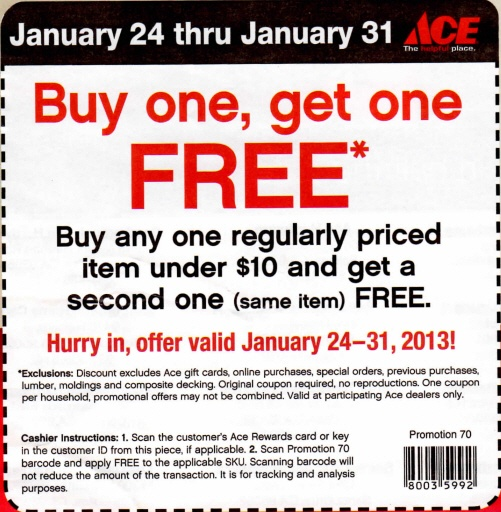 photo about Ace Hardware Printable Coupons called Ace coupon codes - Lovable intelligent nashville