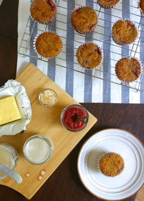 More like this: raspberry muffins , orange muffins and raspberries .